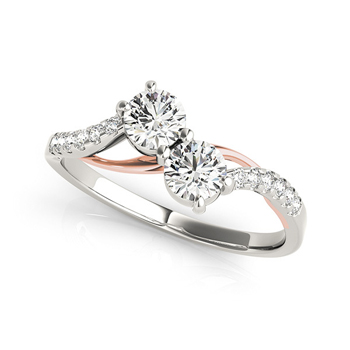 Two Stone Diamond Rings - Hot Trend for 2016